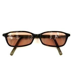 Coach Tortoise Rectangle Sunglasses Frames